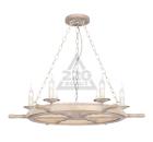 Люстра NATALI KOVALTSEVA Luxury wood 10439/6C WHITE GOLD OAK