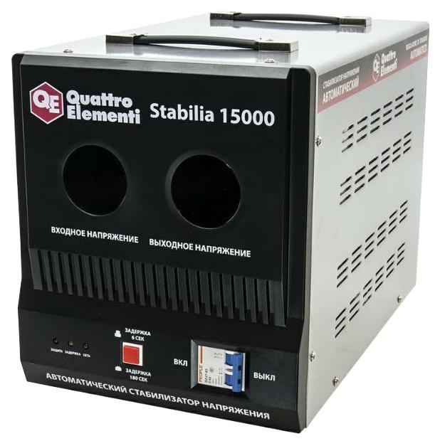 Стабилизатор напряжения Quattro elementi Stabilia 15000 стабилизатор напряжения quattro elementi stabilia 5000