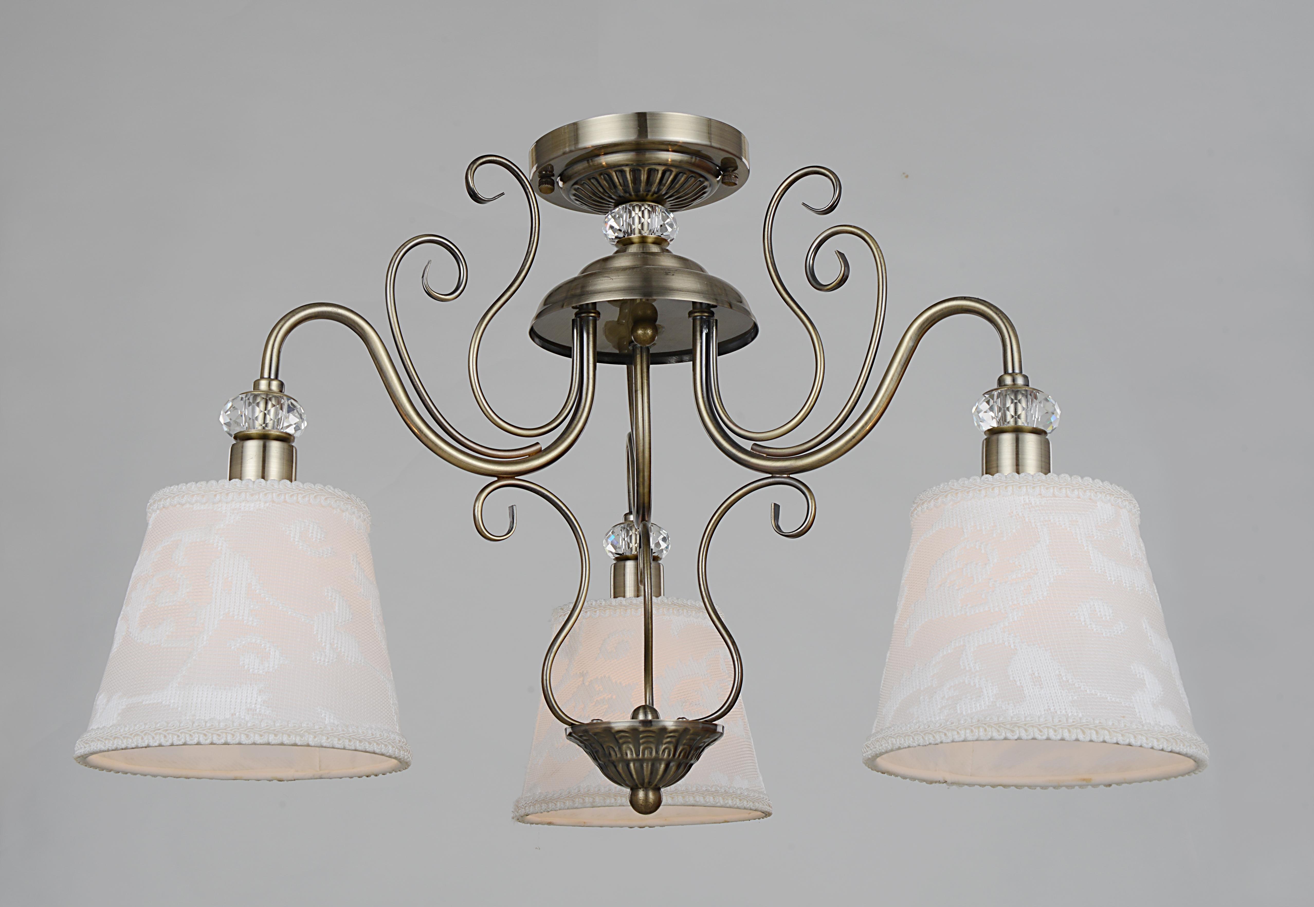 Люстра Lamplandia 5678-3 voyage люстра lamplandia daria 3х40вт е14 металл темно коричневый