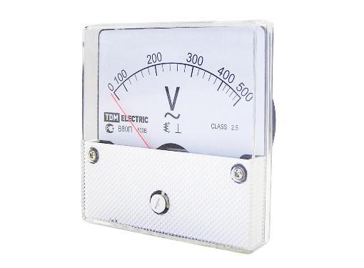 Стрелочный вольтметр TDM SQ1102-0250
