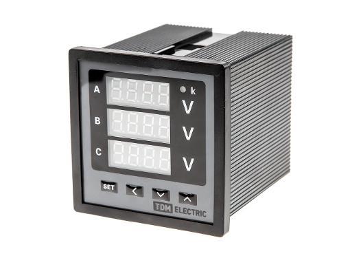 Цифровой вольтметр TDM SQ1102-0506
