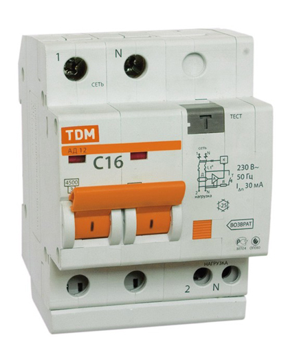 Автомат Tdm Sq0204-0005 диф автомат tdm sq0204 0027