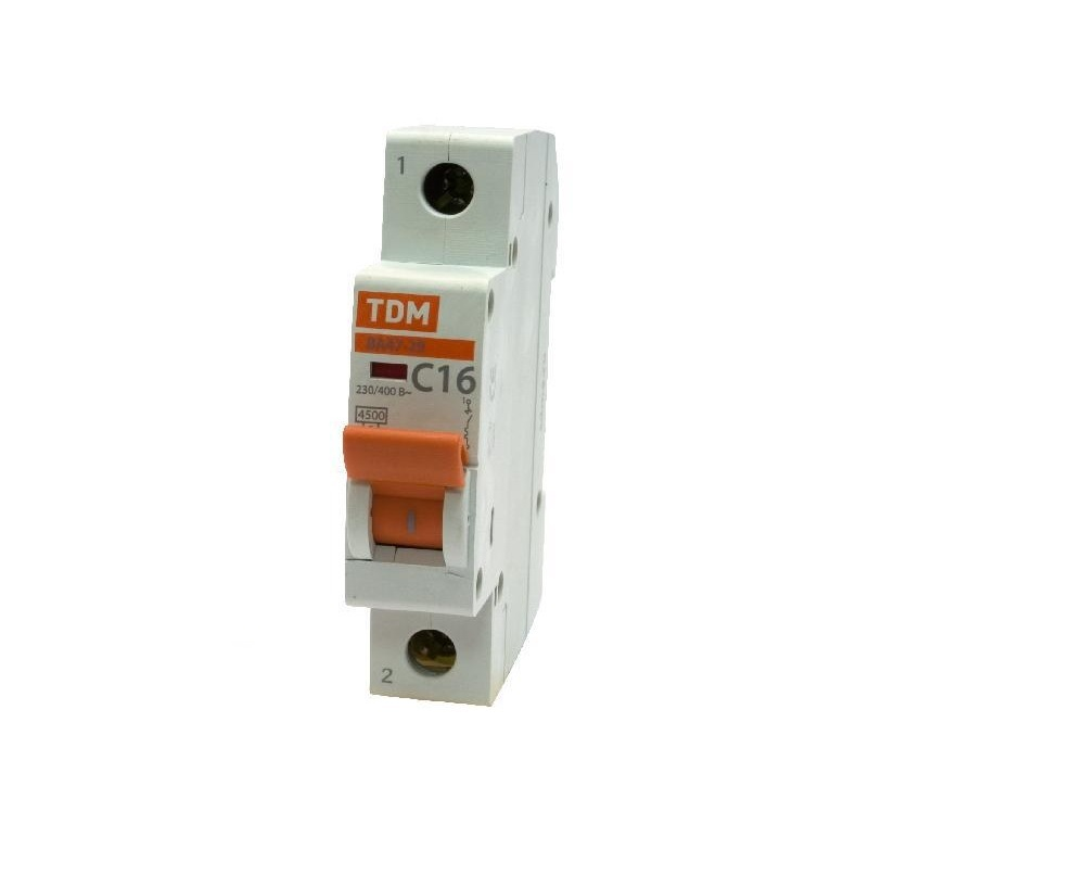 Автомат Tdm Sq0206-0004 small single joint with switch potentiometer a20k