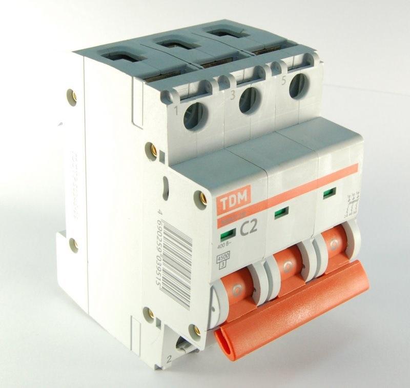 Автомат Tdm Sq0206-0037 люминесцентный светильник tdm лпб3011 sq0305 0037