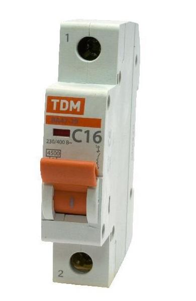 Автомат Tdm Sq0206-0132