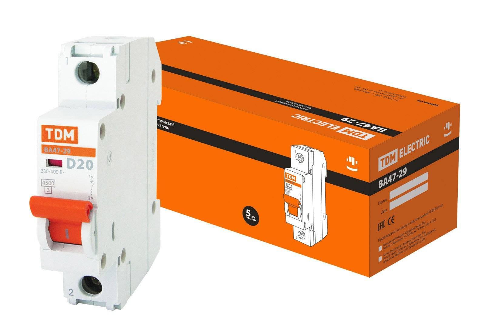 Автомат Tdm Sq0206-0142 автомат tdm sq0206 0071