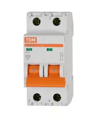 Автомат Tdm Sq0206-0154
