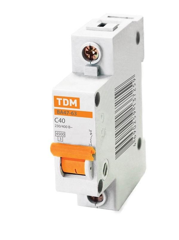 Автомат Tdm Sq0218-0006 tdm пускатель прк32 1 6 sq0212 0006