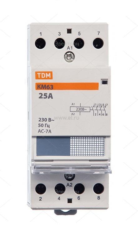 Контактор Tdm Sq0213-0012 tdm контактор кмн 22510 25а 400в ас3 1но
