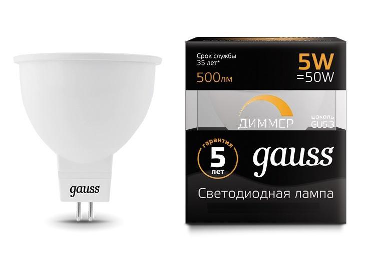 Лампа светодиодная Gauss 101505105-d