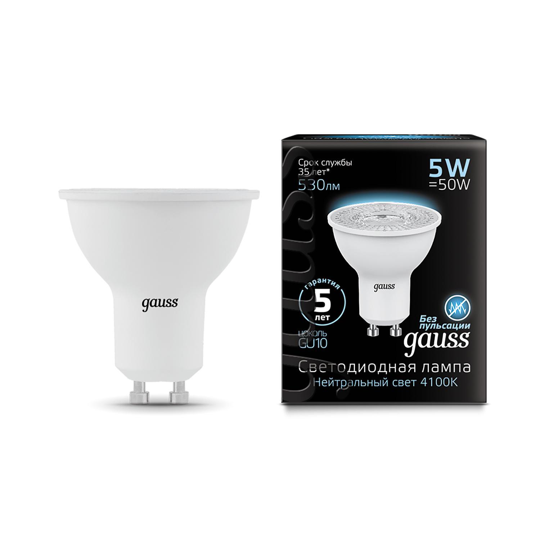 Лампа светодиодная Gauss 101506205 лампы