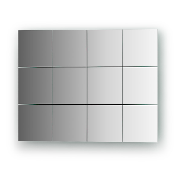Зеркальная плитка Evoform By 1402 черная плитка для ванной купить