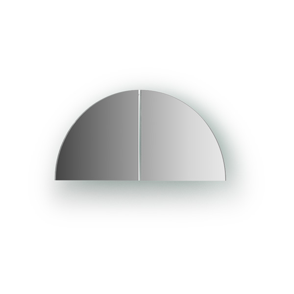 Зеркальная плитка Evoform By 1412 для прихожей