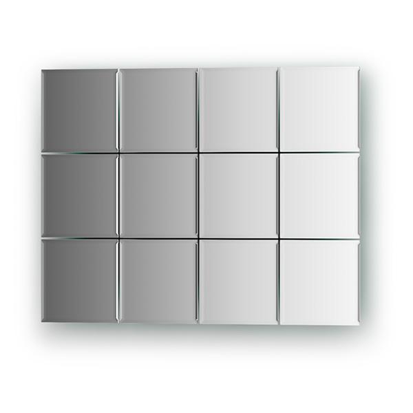 Зеркальная плитка Evoform By 1422 черная плитка для ванной купить