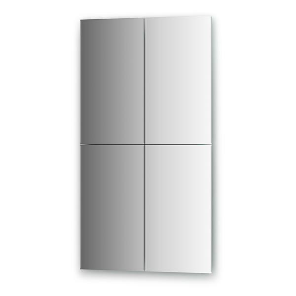 Зеркальная плитка Evoform By 1445 черная плитка для ванной купить