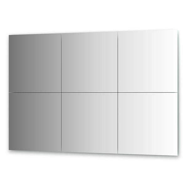 Зеркальная плитка Evoform By 1511 черная плитка для ванной купить