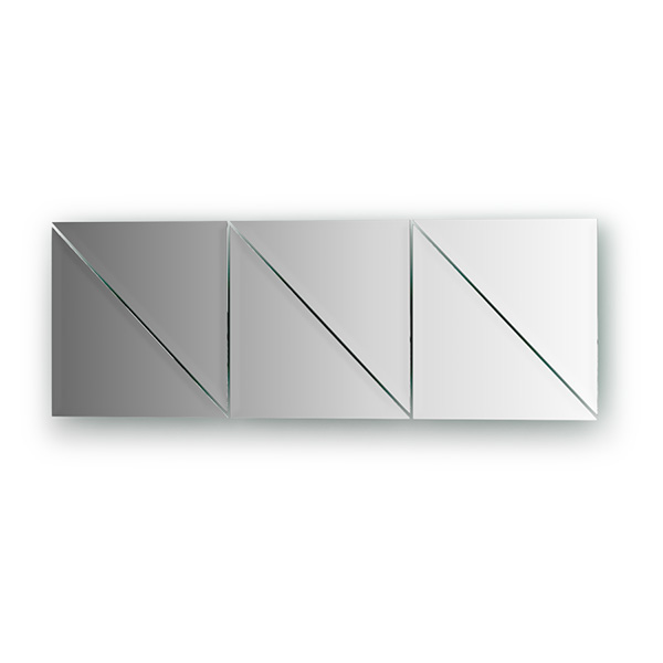 Зеркальная плитка Evoform By 1515 черная плитка для ванной купить