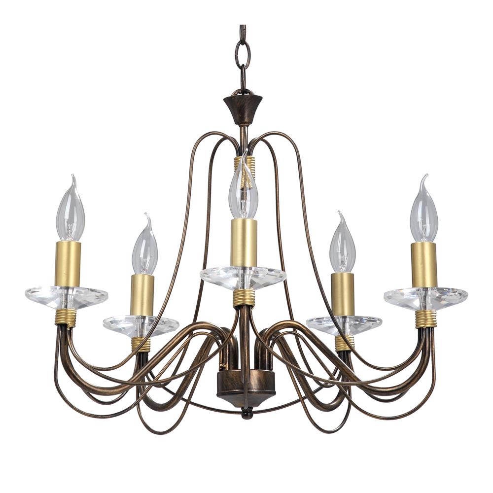 Люстра Vitaluce V1205/5 lucesolara люстра lucesolara 8001 5s цоколь е14 40w gold cream металл стекло 5 ламп