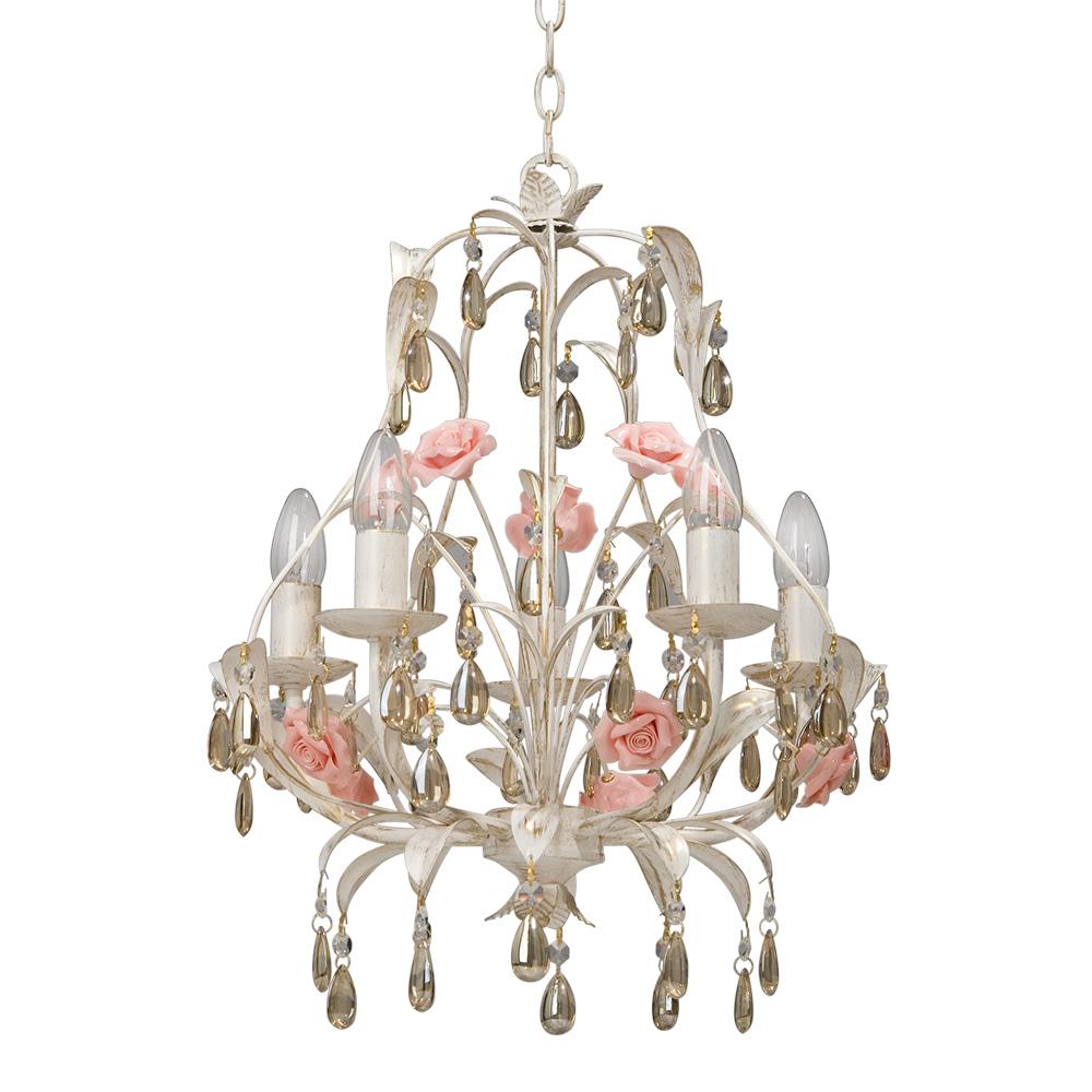 Люстра Vitaluce V1239/5 lucesolara люстра lucesolara 8001 5s цоколь е14 40w gold cream металл стекло 5 ламп