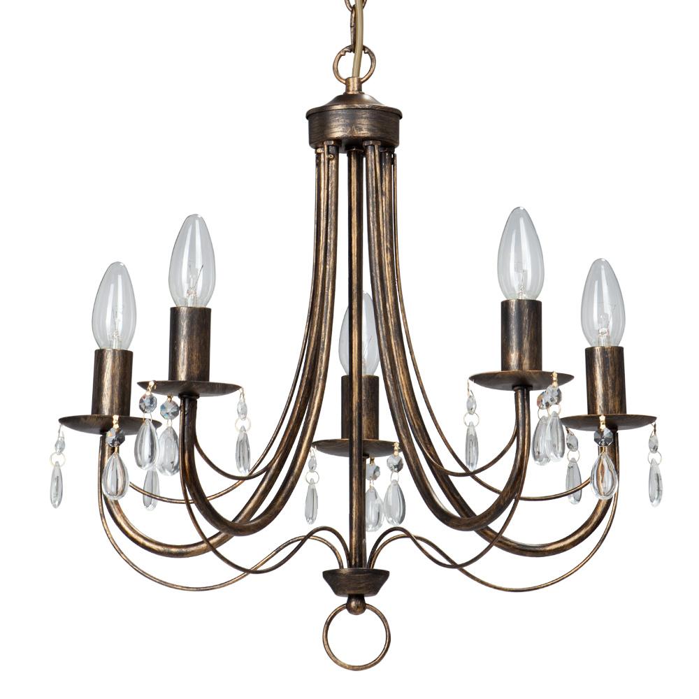 Люстра Vitaluce V1253/5 lucesolara люстра lucesolara 8001 5s цоколь е14 40w gold cream металл стекло 5 ламп