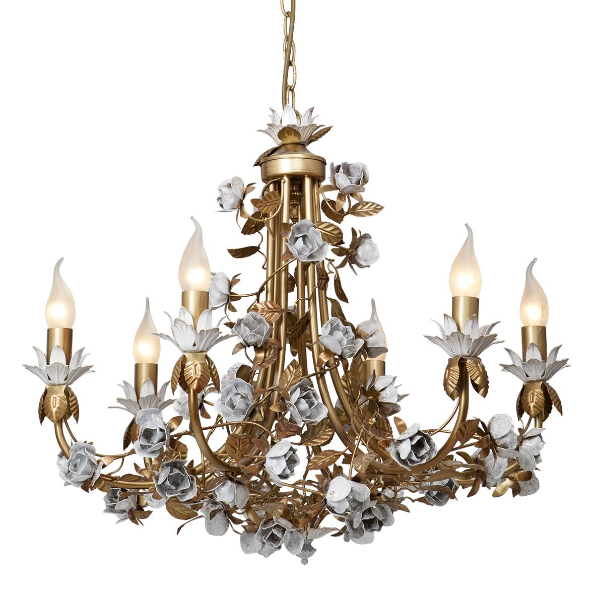 Люстра Vitaluce V1070/6 люстра мишель 5xe14x60 вт металл стекло цвет золото