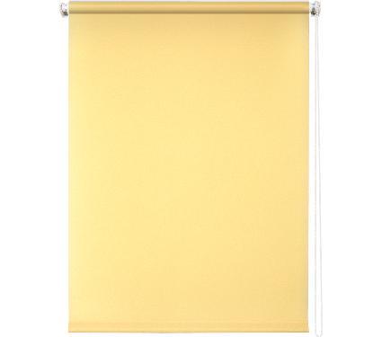 Рулонная штора УЮТ 40х175 Плайн светло-желтый