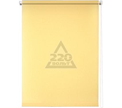 Рулонная штора УЮТ 100х175 Плайн светло-желтый