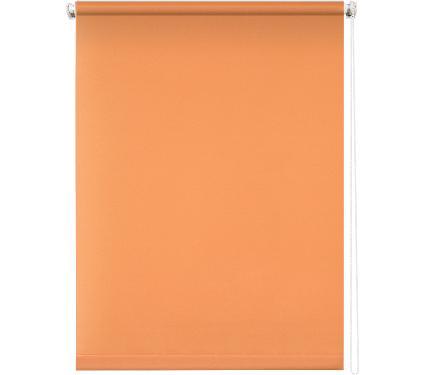 Рулонная штора УЮТ 160х175 Плайн оранжевый