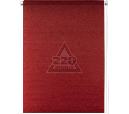 Рулонная штора УЮТ 80х175 Плайн красный
