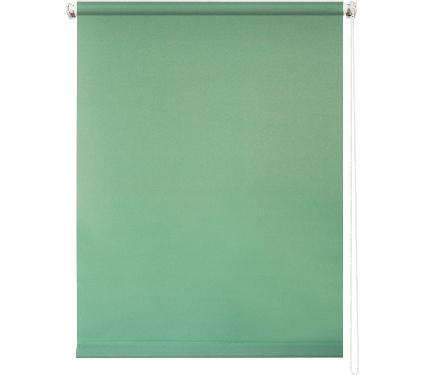 Рулонная штора УЮТ 120х175 Плайн светло-зеленый