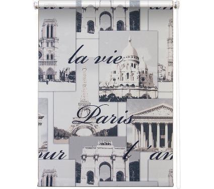 Рулонная штора УЮТ 50х175 Париж серый