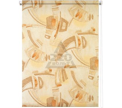 Рулонная штора УЮТ 140х175 Петра коричневый