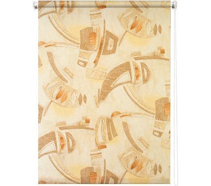 Рулонная штора УЮТ 160х175 Петра коричневый
