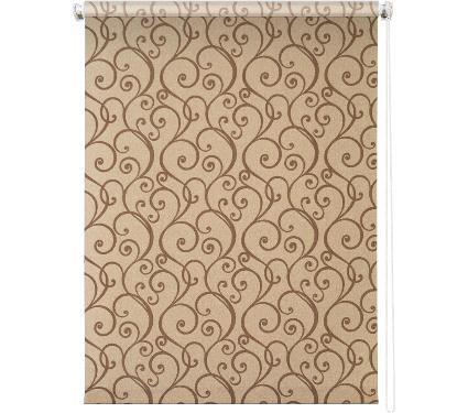 Рулонная штора УЮТ 140х175 Ампель коричневый