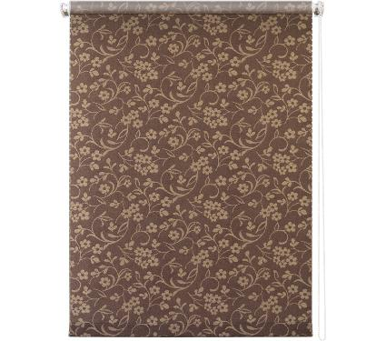 Рулонная штора УЮТ 70х175 Моравия коричневый