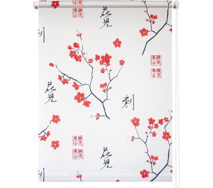 Рулонная штора УЮТ 90х175 Япония белый