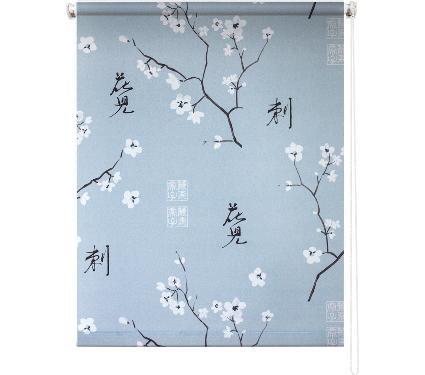 Рулонная штора УЮТ 80х175 Япония серый