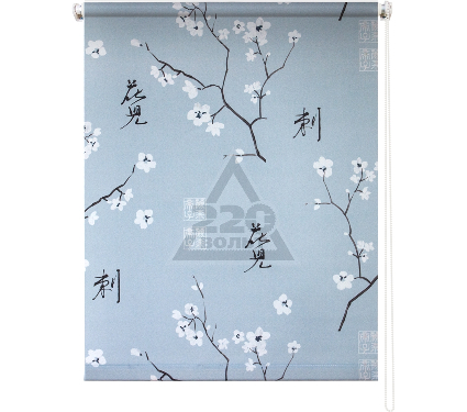 Рулонная штора УЮТ 140х175 Япония серый