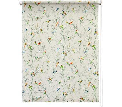 Рулонная штора УЮТ 90х175 Парадиз белый