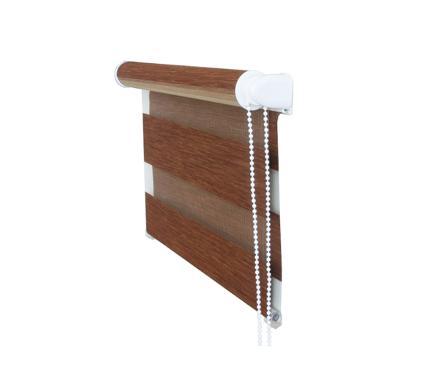 Рулонная штора УЮТ 140х160 Канзас коричневый