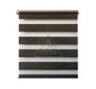 Рулонная штора УЮТ 140х160 Канзас шоколад