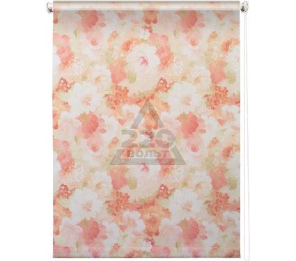 Рулонная штора УЮТ 80х175 Пионы розовый