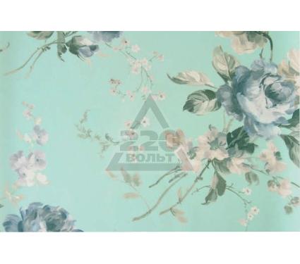 Рулонная штора УЮТ 50х175 Розарий голубой