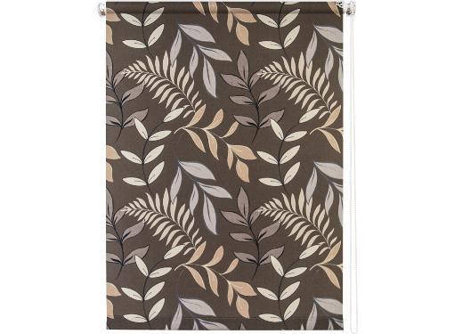 Рулонная штора УЮТ 140х175 Купава коричневый