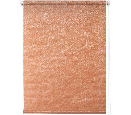 Рулонная штора УЮТ 140х175 Фрост оранж