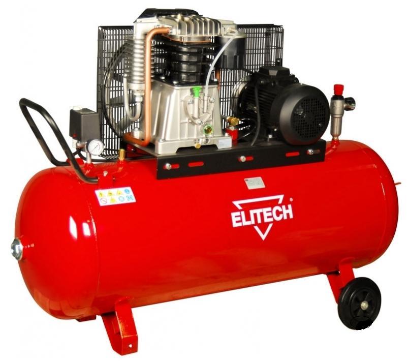 Компрессор Elitech 181520 КР270/АВ858/5.5Т компрессор ременной elitech кр200 ав515 3т