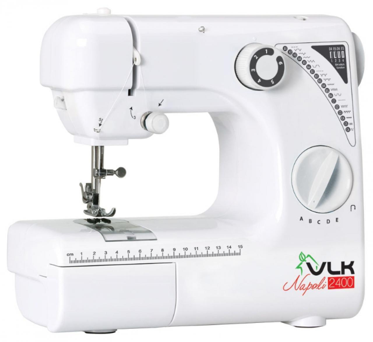 Швейная машинка Vlk 2400 швейная машина vlk napoli 2100 белый