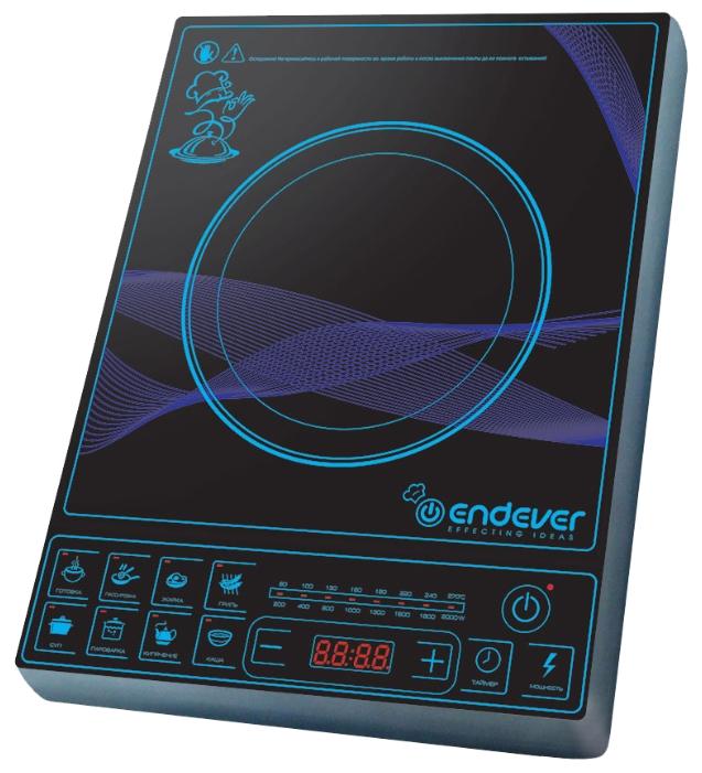 Плита индукционная Endever Ip-28 электрическая плита endever ip 28 закаленное стекло индукционная черный [80033]