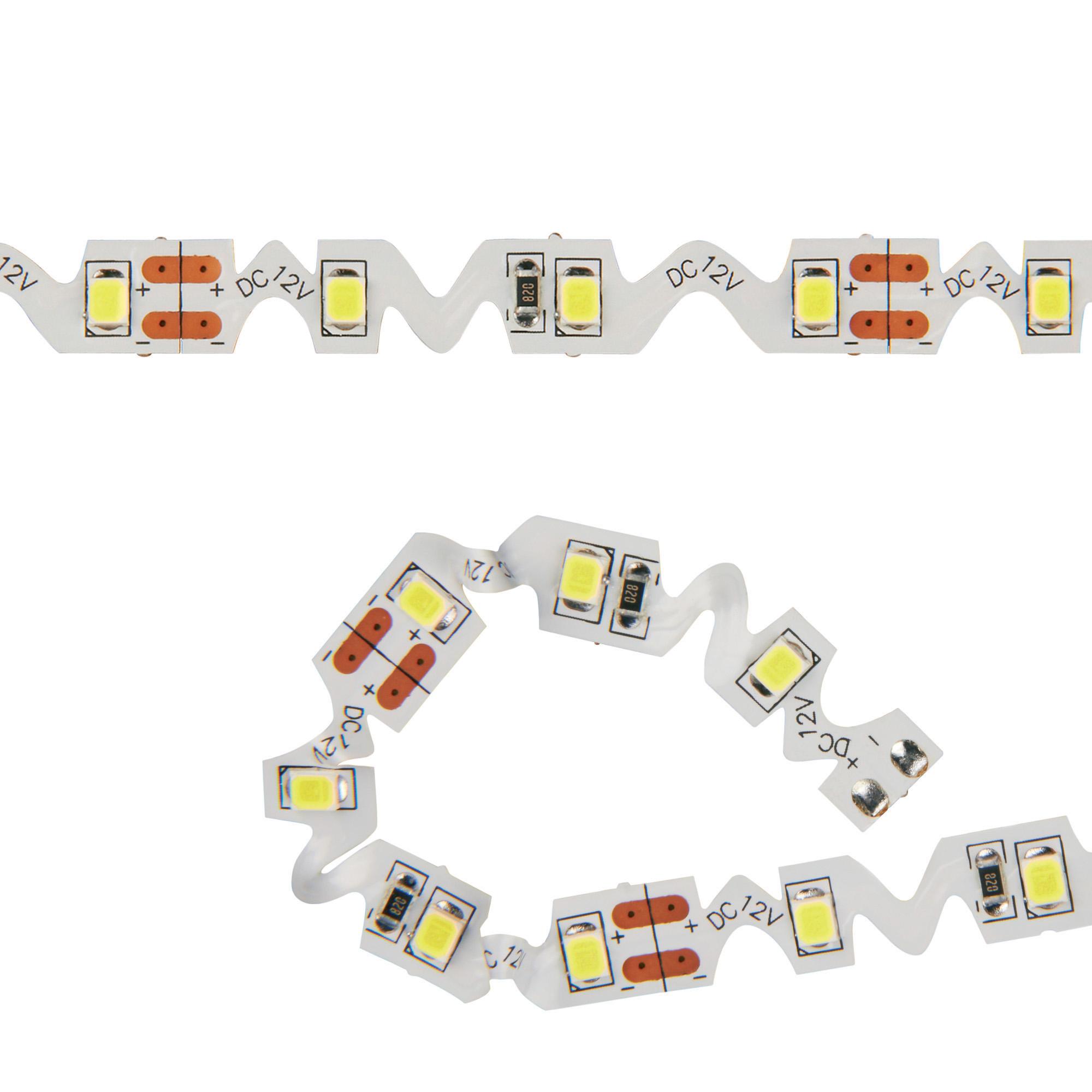 Лента светодиодная Uniel Uls-z01 2835-60led/m-8mm-ip20-dc12v-9,6w/m-3m-dw