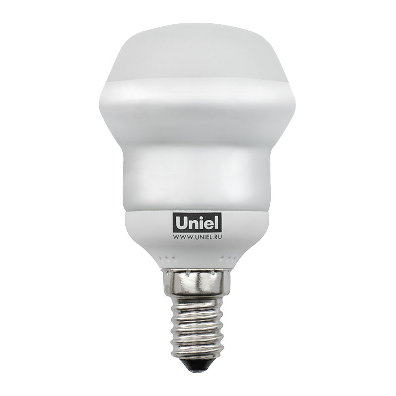 Лампа энергосберегающая Uniel Esl-rm50-9/2700/e14  (ESL-RM50-9/2700/E14 S картон)